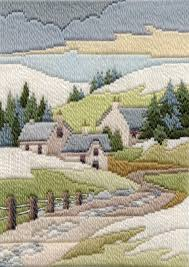 Long Stitch Kit, Cottage Winter Long Stitch MLS12
