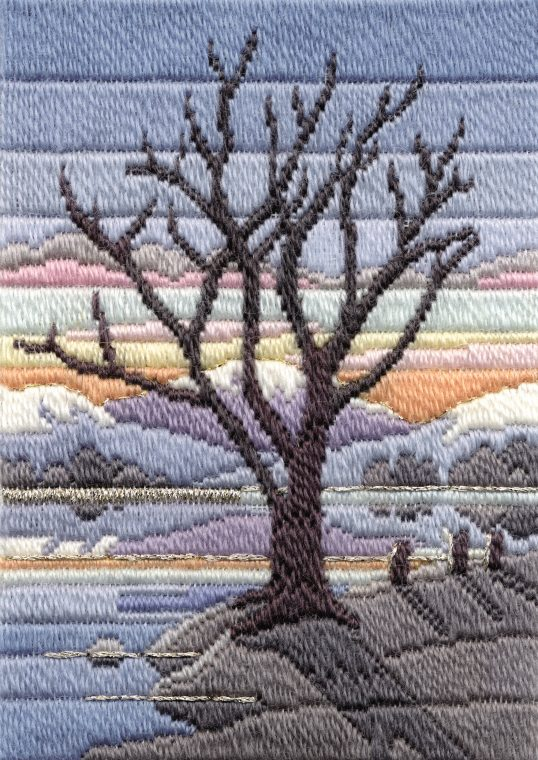 Long Stitch Kit, Winter Evening Long Stitch MLS16