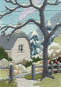 Long Stitch Kit, Cottage Garden Winter Long Stitch MLS20