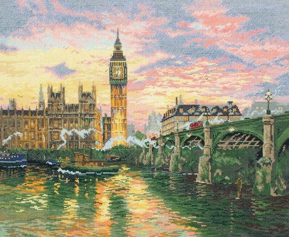 London Counted Cross Stitch Kit, Thomas Kinkade, Maia 5678000-1173