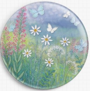 Needle Minder, Magnetic Needle Keeper -Summer Meadow, Jo Grundy 37mm