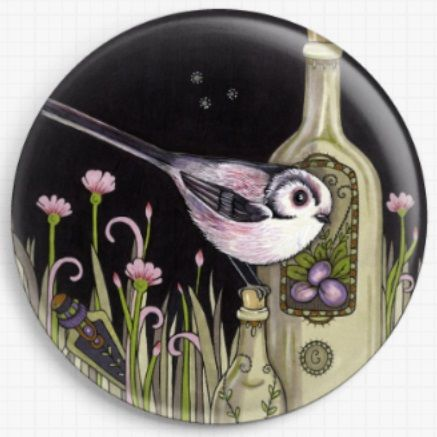 Needle Minder, Magnetic Needle Keeper -Professor Plum, Anita Inverarity 37mm