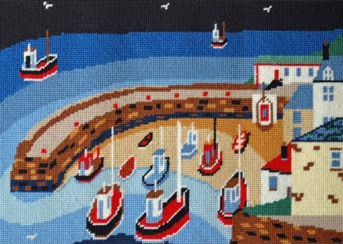 Old Harbour Tapestry Kit, Cleopatra's Needle - Chas Jacobs BB03