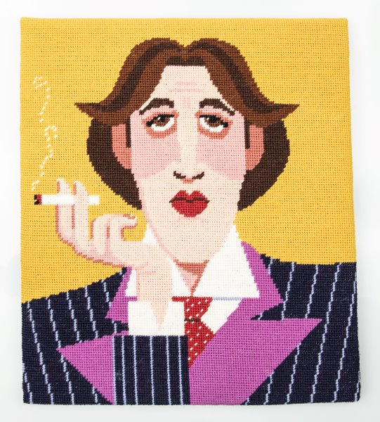 Oscar Wilde Tapestry Kit Needlepoint, Appletons