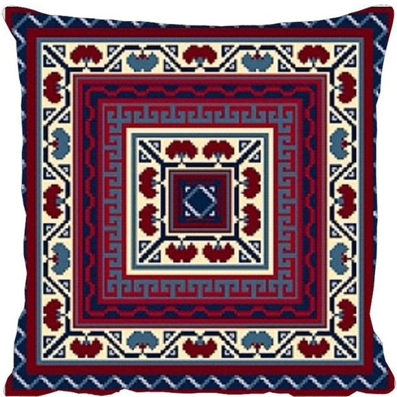 Persian Tile Kelim Tapestry Needlepoint Kit, Designers Needle
