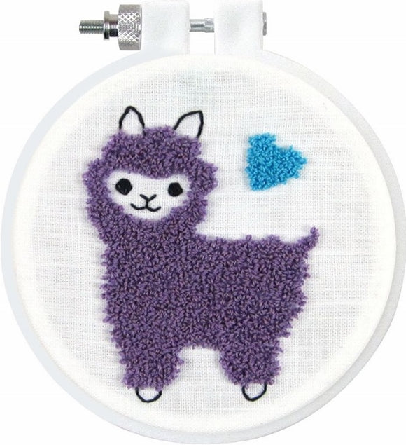 Punch Needle Kit, Llama Punch Needle Embroidery Starter Kit 227