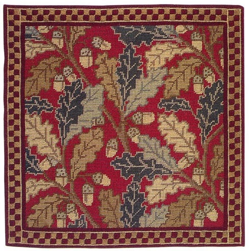 Red Acorn Tapestry Kit, Cleopatra's Needle NG01