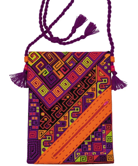 Aztec Bag Counted Cross Stitch Riolis Kit R1429AC