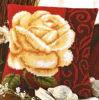Rose CROSS Stitch Tapestry Kit, Vervaco 1200.970