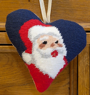 Santa Heart Tapestry Kit, Cleopatra's Needle