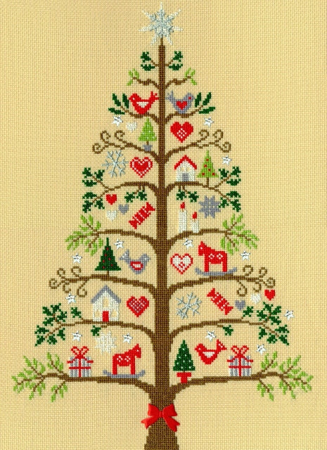Scandi Tree Cross Stitch Kit - Bothy Threads XX9