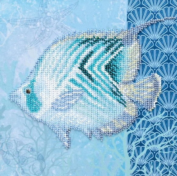 Sea World Bead Embroidery Kit, Bead Work Kit VDV, TN-1024