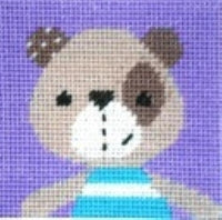 Teddy Bear Tapestry Kit Starter, The Stitching Shed