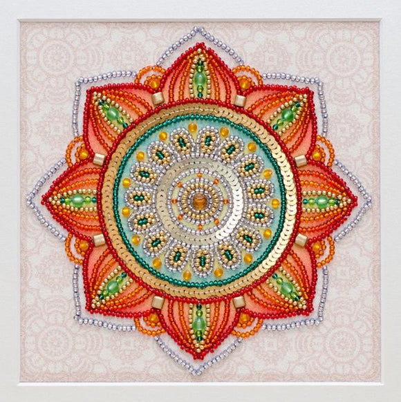 To Happiness Bead Embroidery Kit, Bead Work Kit VDV, TN-1006