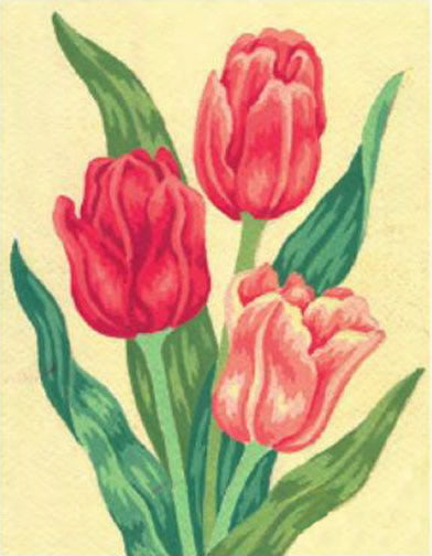 Tulips Tapestry Kit, Grafitec K03-105