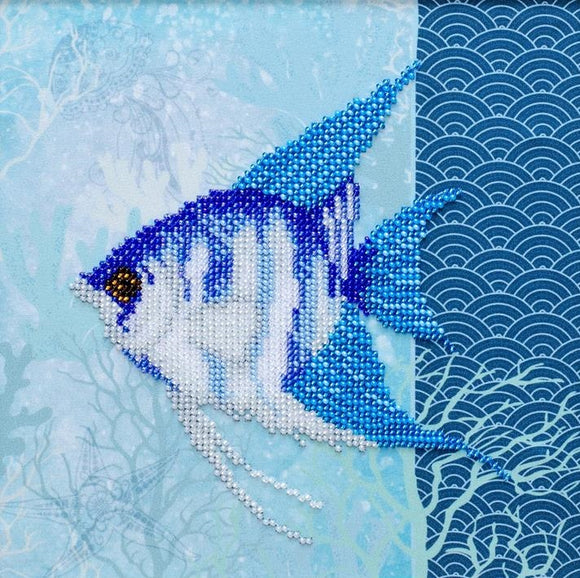 Underwater Beauty Bead Embroidery Kit, Bead Work Kit VDV, TN-1025