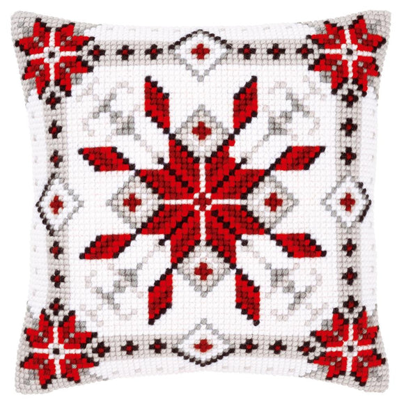Snow Crystal CROSS Stitch Tapestry Kit, Vervaco pn-0146119