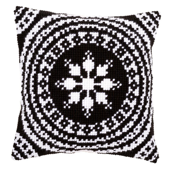 Black and White CROSS Stitch Tapestry Kit, Vervaco pn-0155757
