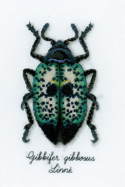 Blue Beetle Counted Cross Stitch Kit, Vervaco pn-0165369