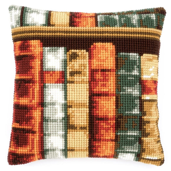 Bookshelf CROSS Stitch Tapestry Kit, Vervaco pn-0150893
