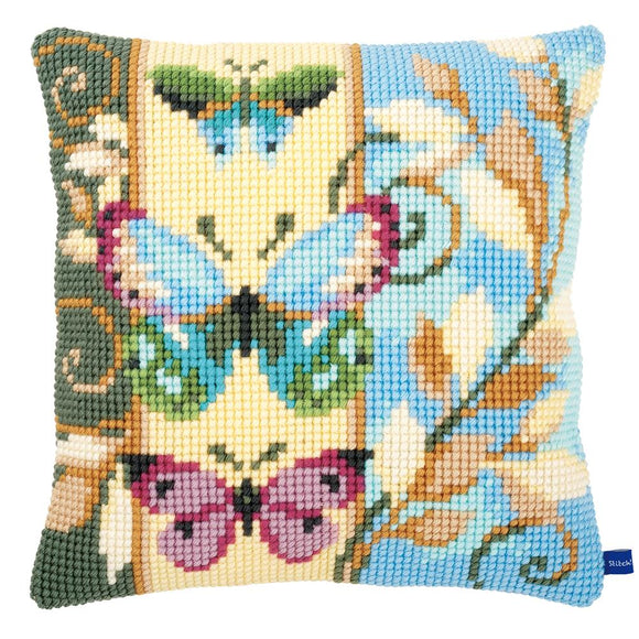 Deco Butterflies CROSS Stitch Tapestry Kit, Vervaco PN-0154716