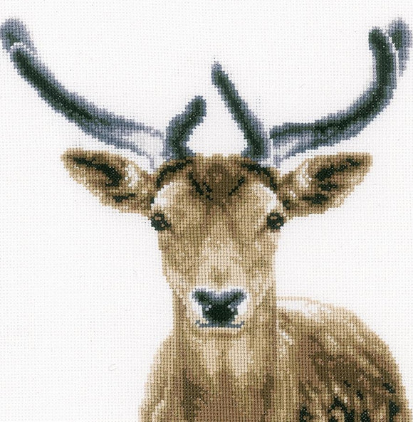 Deer Counted Cross Stitch Kit, Vervaco pn-0166708