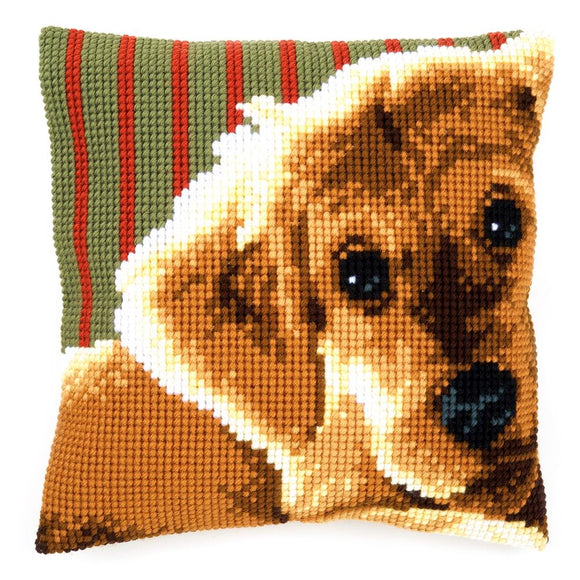 Retriever CROSS Stitch Tapestry Kit, Vervaco PN-0158555