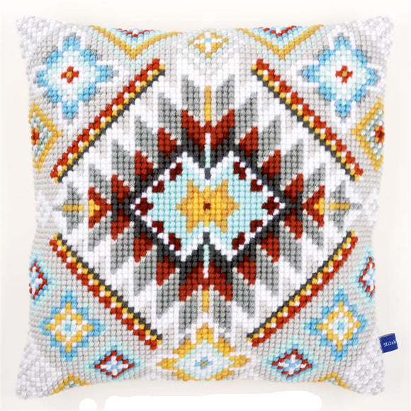 Ethnic Print 3 CROSS Stitch Tapestry Kit, Vervaco PN-0154993