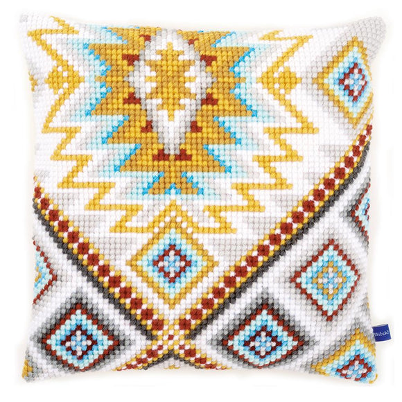 Ethnic Print 2 CROSS Stitch Tapestry Kit, Vervaco PN-0154994