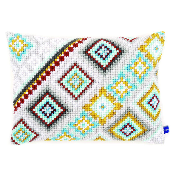 Ethnic Print 1 CROSS Stitch Tapestry Kit, Vervaco PN-0155162