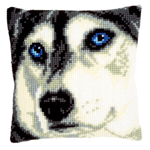 Husky CROSS Stitch Tapestry Kit, Vervaco pn-0150453