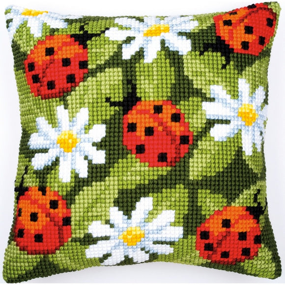 Ladybirds CROSS Stitch Tapestry Kit, Vervaco PN-0008482