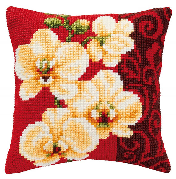 Orchid CROSS Stitch Tapestry Kit, Vervaco PN-0008790