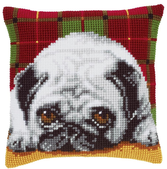 Pug CROSS Stitch Tapestry Kit, Vervaco PN-0148811