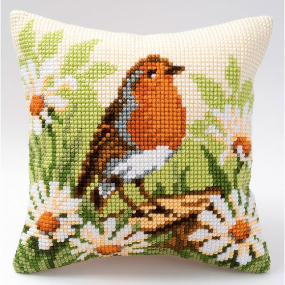 Spring Robin CROSS Stitch Tapestry Kit, Vervaco PN-0008480