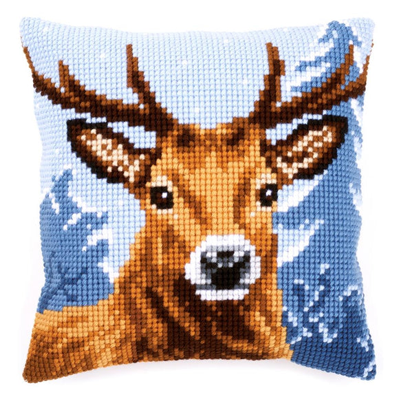 Stag CROSS Stitch Tapestry Kit, Vervaco pn-0156293