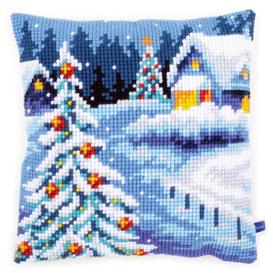 Winter Scene CROSS Stitch Tapestry Kit, Vervaco pn-0154633