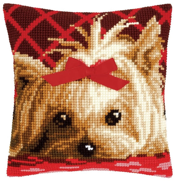 Yorkshire Terrier CROSS Stitch Tapestry Kit, Vervaco PN-0146989
