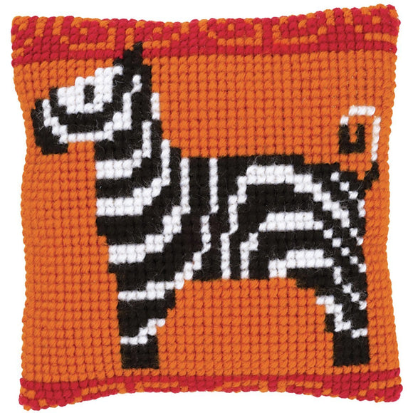 Zebra Mini CROSS Stitch Tapestry Kit, Vervaco pn-0146835