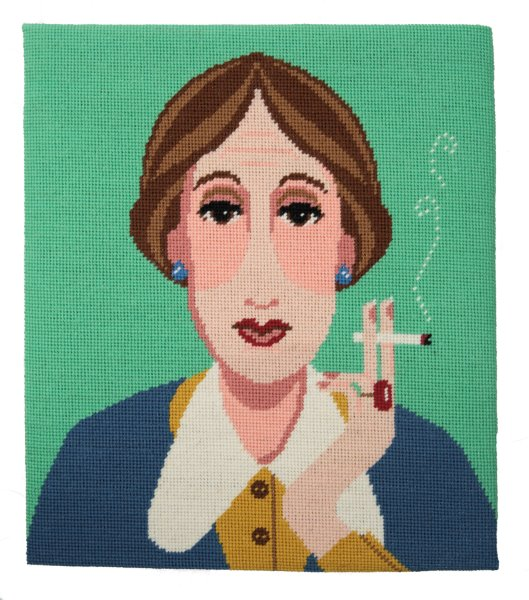Virginia Woolf Tapestry Kit Needlepoint, Appletons