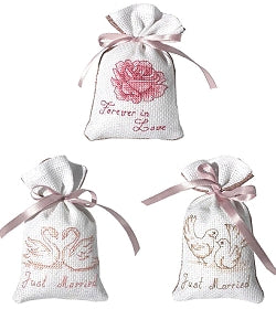 Wedding Cross Stitch Kit Gift Bag Set, Luca-s