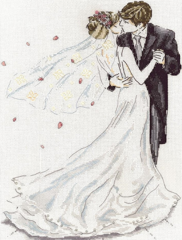 Wedding Dance Counted Cross Stitch Kit, Design Works 2844