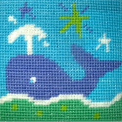 Whale Tapestry Kit Starter, The Stitching Shed