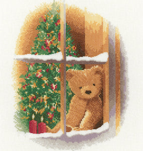 William at Christmas Cross Stitch Kit, Heritage Crafts, John Clayton
