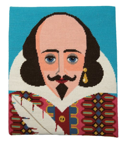 William Shakespeare Tapestry Kit Needlepoint, Appletons