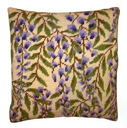 Tapestry Kit Wisteria Cushion / Herb Pillow, Cleopatra's Needle