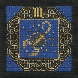 Zodiac Scorpio Counted Cross Stitch Kit Riolis R1208