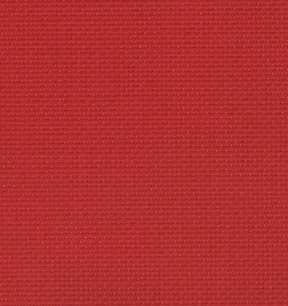 Aida 14 count Fabric, Zweigart 14ct FAT QUARTER -Christmas Red