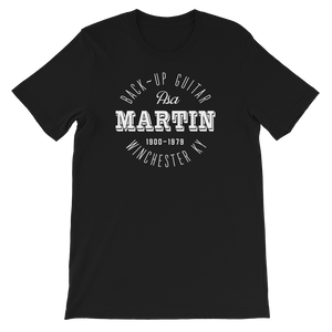 Asa Martin old time music t-shirt flatwoods 1927