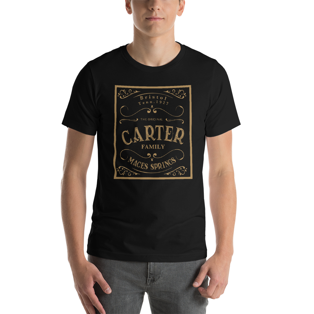 Carter Family old time music t-shirt flatwoods 1927